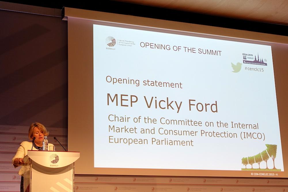 Opening statement at the European Standardisation Summit, 4 June 2015, Riga
