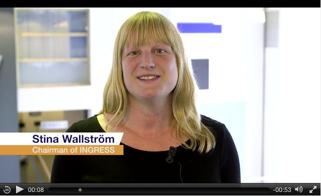 Stina Wallström - Video message